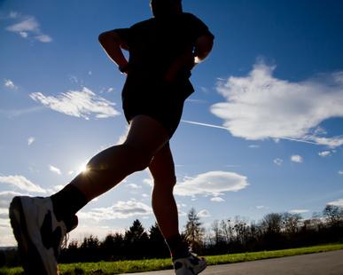 Muskelaufbau durch Laufen?