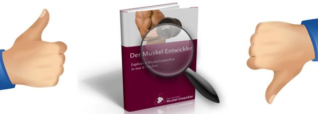 Testbericht zum Muskel Entwickler von Flavio Simonetti
