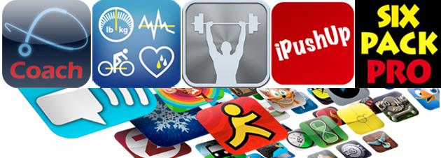 Die 5 besten Fitness Apps zum Abnehmen und Muskelaufbauen