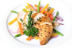 Eine gute Mahlzeit nach dem Training für Bodybuilder um den Muskelaufbau zu verbessern