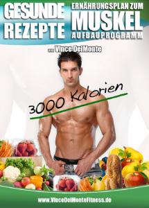Gesunde Rezepte von Vince DelMonte 3000 Kalorien