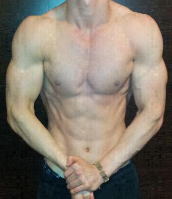 Anton Bodybuilding Pose