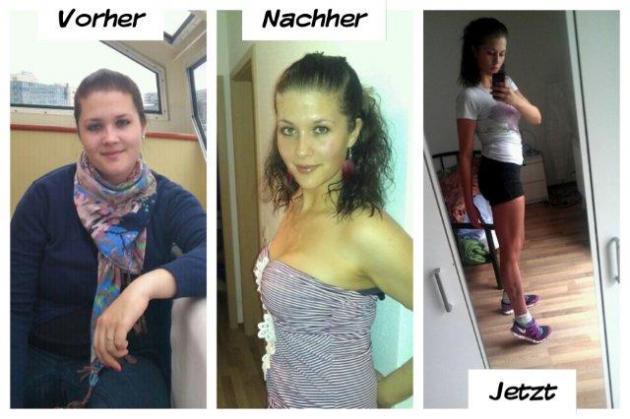 10 Week Body Chance vorher nachher von Katharina