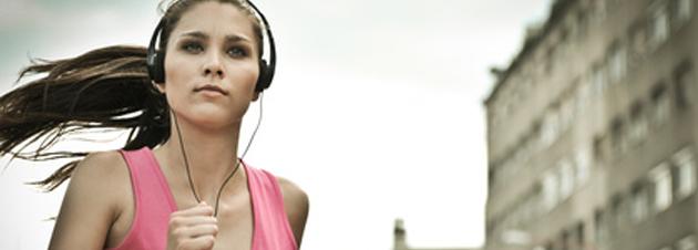 Die richtige Musik beim Training