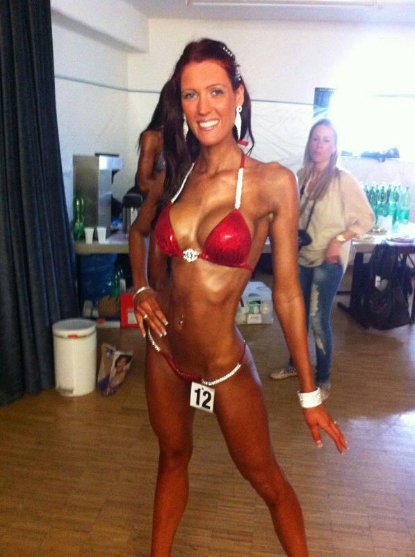 Nathalie Pektemiz  front pose