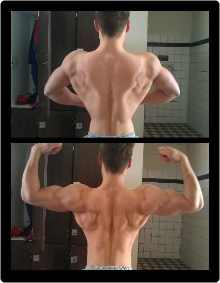 Rückenpose