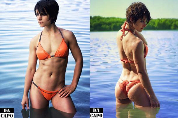 Anne-Hartlaub-Bikini-Posing-im-Wasser