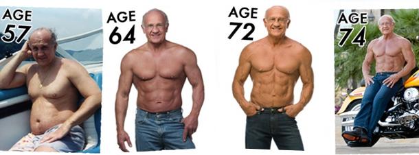 Kann ich im Alter trotzdem noch Muskeln aufbauen?