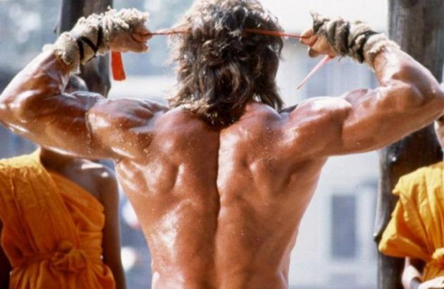 Sylvester-Stallone-rückenmuskeln