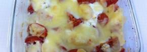 Tomaten-Käse-Auflauf