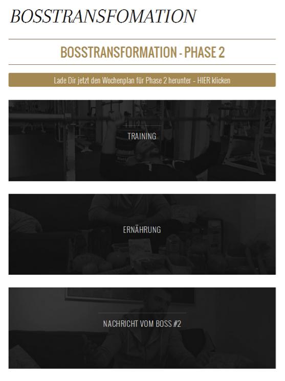 Bosstransformation Phase 2 von Kollegah